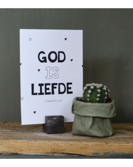 God is liefde (kaarthouder mini)